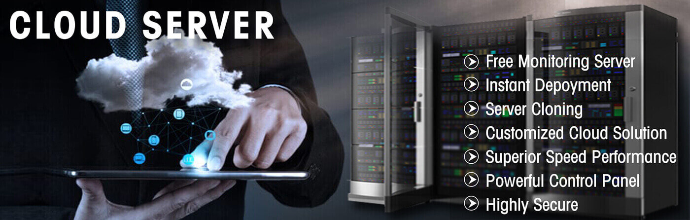 Dedicated Server, VPS Server, Cloud Server